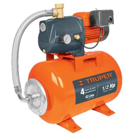 HIDR-1/2X24 Bomba hidroneumática 1/2HP, 24 litros